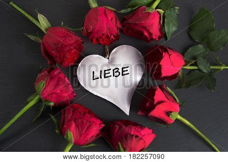 liebe - the german word for love