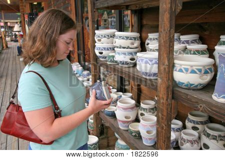 Pottery Shopping