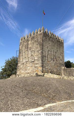 Povoa de Lanhoso castle, north of Portugal