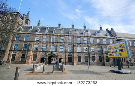 Binnenhof, The Hague, The Netherlands