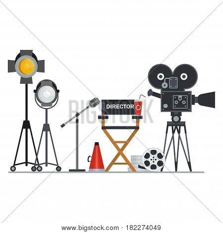 Film Director Workplace