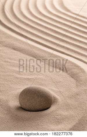 zen meditation stone background to a buddhism ying yang for relaxation balance and harmony spirituality or spa wellness concept for purity serenity jing jang