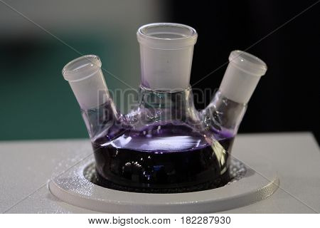 test-tube in a lab