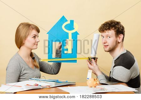 Couple Project Their First House.