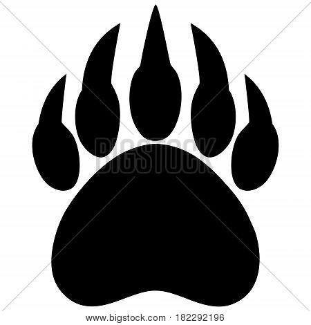 A vector illustration of a Bear Claw symbol.