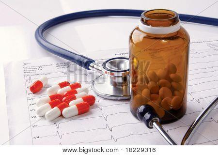 medical background poster