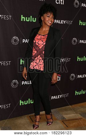 LOS ANGELES - MAR 19:  Jerrika Hinton at the 34th Annual PaleyFest Los Angeles -