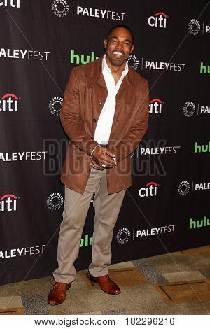 LOS ANGELES - MAR 19:  Jason George at the 34th Annual PaleyFest Los Angeles -