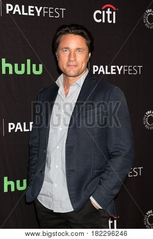 LOS ANGELES - MAR 19:  Martin Henderson at the 34th Annual PaleyFest Los Angeles -