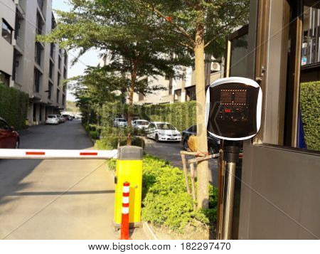 Access Control Machine, Road Blocker With Barrier Gate, Automatic Car Park System