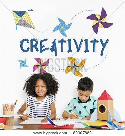 Childhood Leisure Hobby Imagination Concept