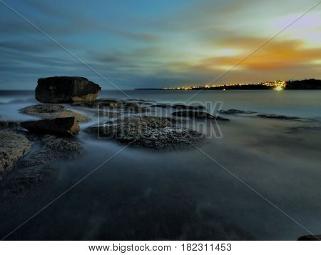Bondi Beach in AUS nice view and nice place