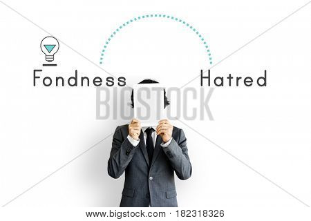 Antonym Opposite Happy Sad Fondness Hatred Animosity Affection
