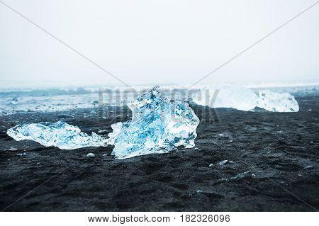 Jokulsarlon Ice Beach, South Iceland
