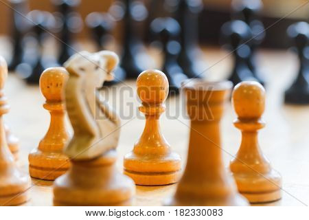chess game black competition board battle sport