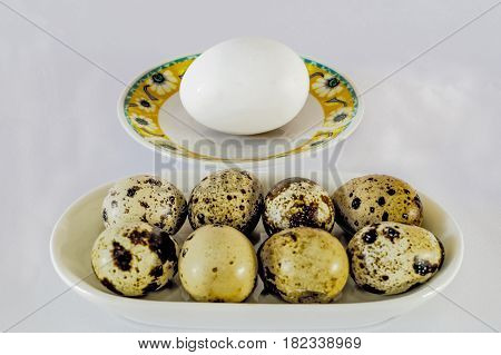seven quail eggs replaces one chicken egg