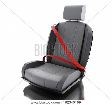 3D Car Chair With Auto Seat Belt