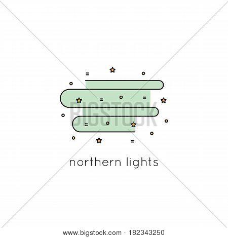 Northern Lights Vector & Photo (Free Trial) | Bigstock