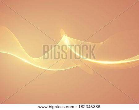 Abstract orange flame vector mesh background. Futuristic technology style. Elegant background for business presentations. Flying debris. eps10