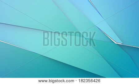 Bdroken surface