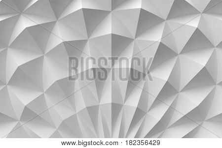 white surface of pyramid
