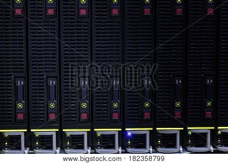 Computer Server and raid storage in datacenter