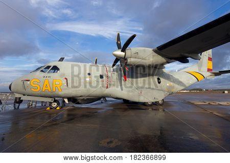 Spanish Air Force Casa Cn235 Patrol Plane