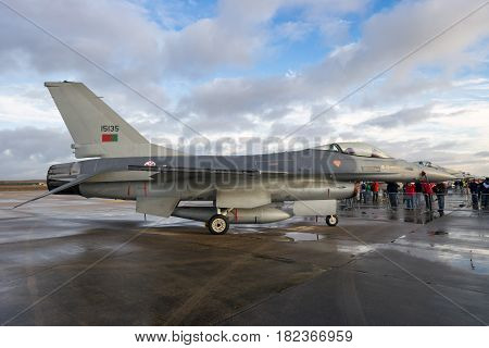 Portugal Air Force F-16 Fighter Jet Airplane