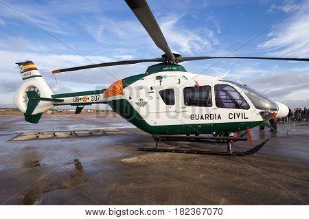 Spanish Guardia Civil Ec135 Helicopter