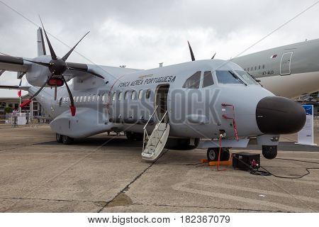 Portuguese Air Force Eads Casa C-295 Cargo Plane