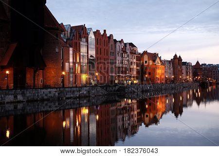Dawn In Gdansk