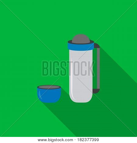 Thermos icon of vector illustration for web and mobile design