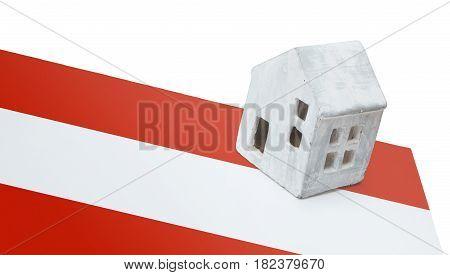 Small House On A Flag - Austria