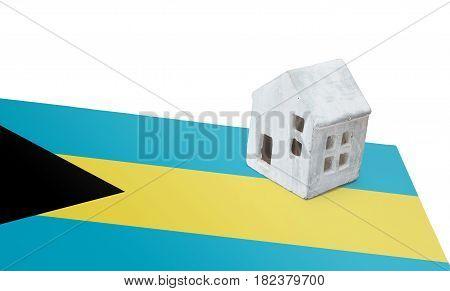 Small House On A Flag - Bahamas