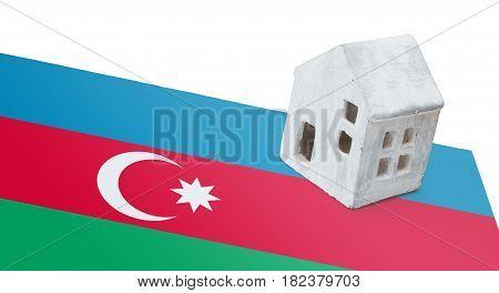 Small House On A Flag - Azerbaijan