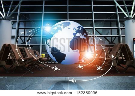 Aviation Concept Business Background