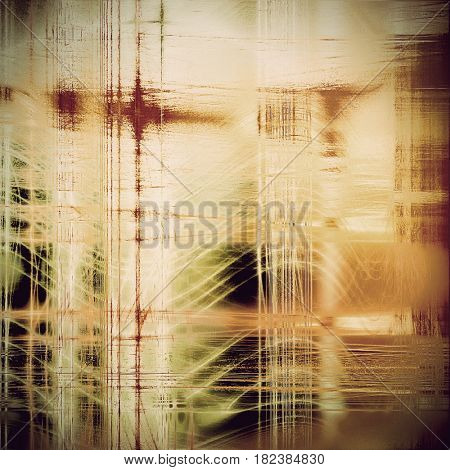 Grunge retro vintage textured background. With different color patterns: yellow (beige); brown; green; gray; black; white