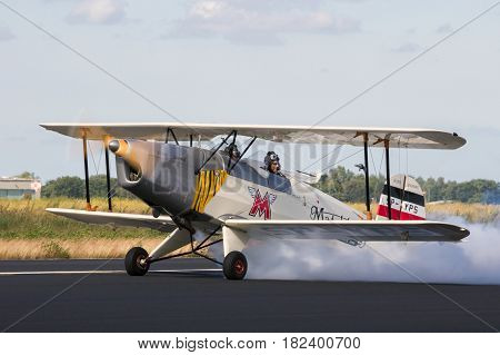 Bücker Bü-131 Jungmann Vintage Plane
