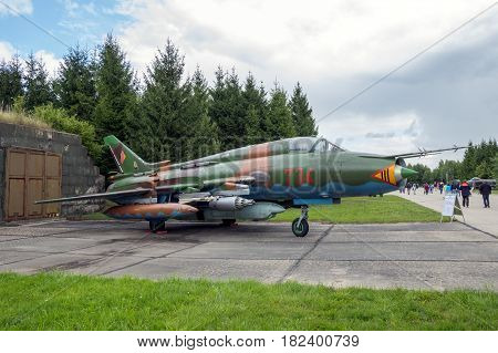 Sukhoi Su-22 Fitter Fighter Jet Aircraft