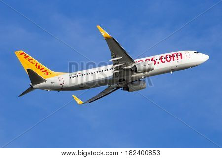 Pegasus Airlines Boeing 737 Aircraft