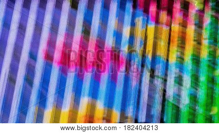 Real abstract graphic colored background of illumination in Bright multicolored halftones colors geometric pattern. Modern pattern, wallpaper or banner design.
