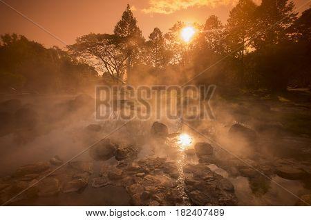 Thailand Lampang Jaesorn Hotsprings