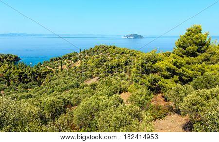 Kelifos Island, Greece.