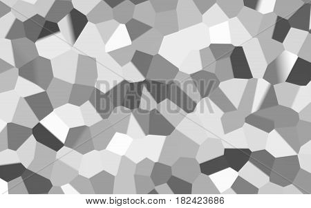Abstract white mosaic texture background and monotone texture