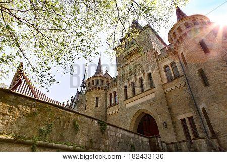 View of Royal Castle Marienburg, Niedersachsen Germany