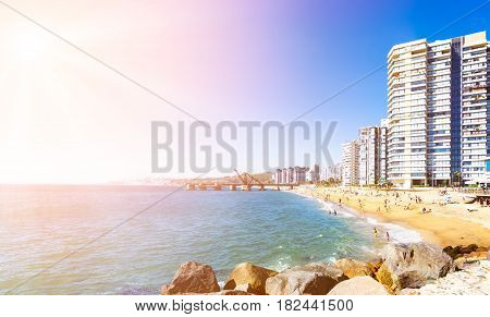 Hotels On The Beach In Vina Del Mar, Chile