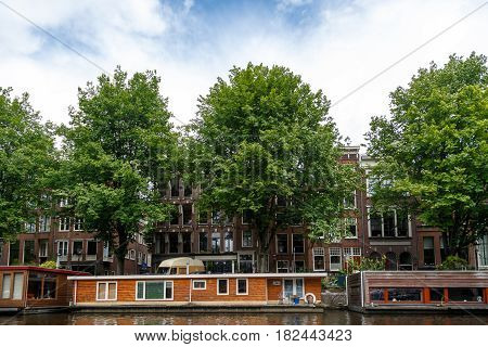 Houses Along Canal