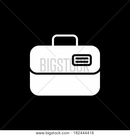 Ambulance case vector icon. line case illustration. Eps 10