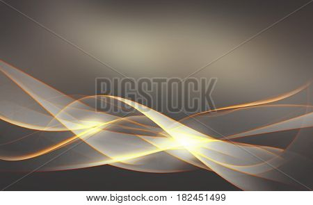 abstract composition of delicate lines