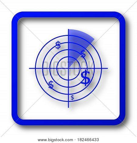 Radar Searching Money Icon